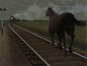 Horse-and-Train