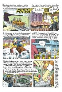 A page from Dave Collier's comic book, Colville Comics
