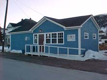 Woody Point Public Library, one of the 54 branches facing closure