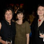 Poets Hoa Nguyen and Damian Rogers with translator Joanna Trzeciak (Tom Sandler)