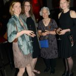 Elizabeth Johnston, Brick publisher Laurie D. Graham, poets Maureen Scott Harris and Karen Solie (Tom Sandler)
