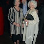 Author Sandra Martin, Roger Hall, and Florence Richler (Tom Sandler)