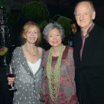 Butterfield & Robinson owner Martha Butterfield, former Governor General Adrienne Clarkson, and author John Ralston Saul (Tom Sandler)
