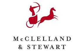 the McClelland and Stewart logo of an archer riding in a horse-drawn chariot