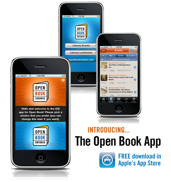 Open Book puts literary events on the map with new app